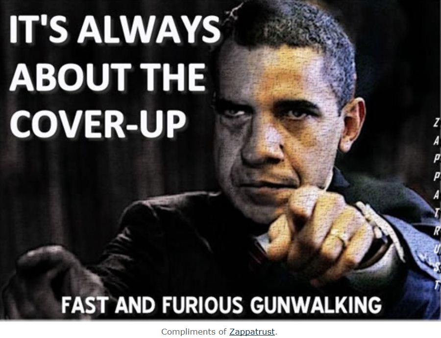 holder and Obama doing the perp walk
