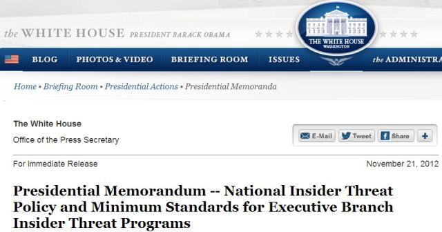Presidential Memorandum.11.21.2012