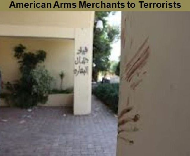 Benghazi.Arms to Terrorists