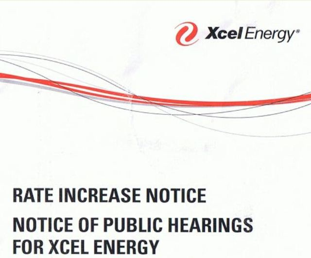 Xcel rate increase.1