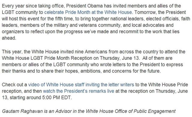 Obama.Pride.2013 WH Statement