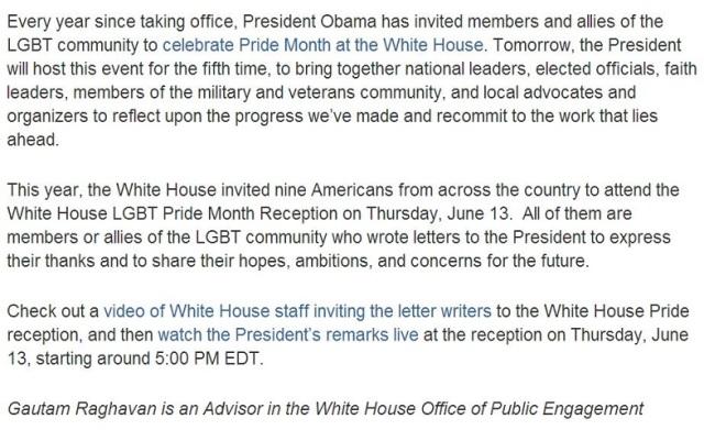 Obama.Pride.2013 WH Statement