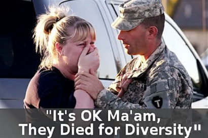 It is OK.They died for diversity