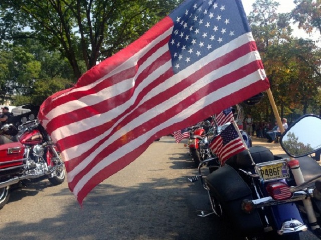 DC bikers.flags