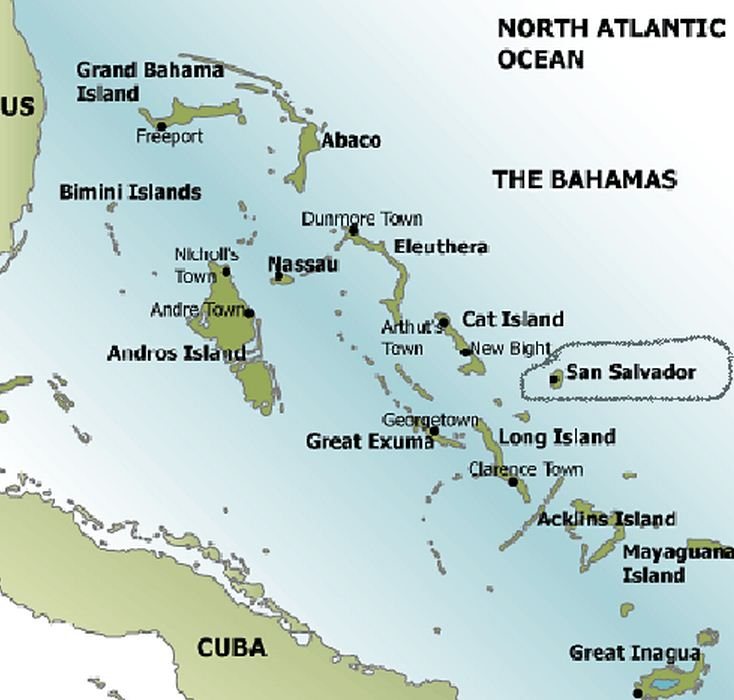 Christopher columbus expedition of the island of cuba