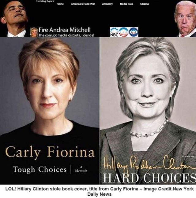 HRC stole Carly's cover.2
