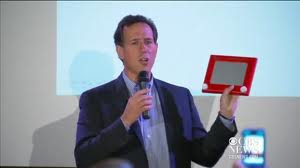 Santorum etch-a-sketch