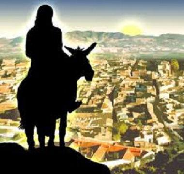 Jesus overlooking Jerusalem.1