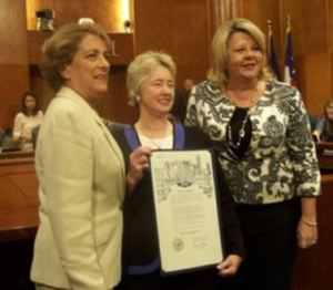 Mayor Parker and council members